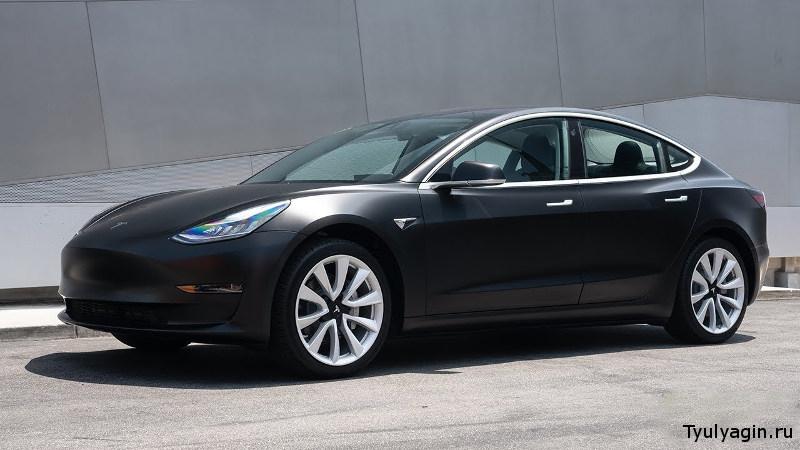 Tesla Model 3 - самый продаваемый электромобиль в мире на 2019 год