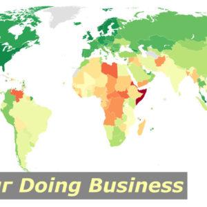 Рейтинг стран Doing Business 2020 в таблице от Всемирного банка