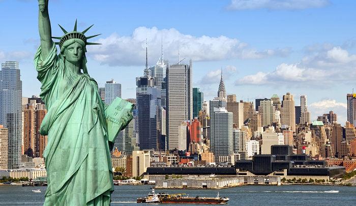 США - третья по посещаемости туристами страна мира