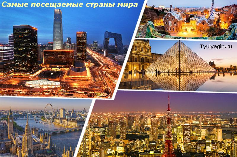 Самые посещаемые и популярные страны мира у туристов