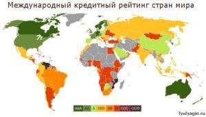 Международный кредитный рейтинг стран мира и России