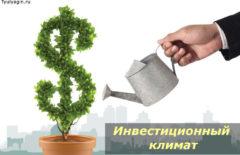 Инвестиционный климат — что это и как улучшить