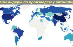 Список стран лидеров по производству автомобилей