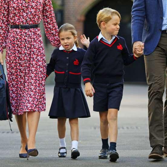 Принц Джордж Александр Луи и принцесса Шарлотта