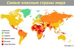 Рейтинг самых опасных и безопасных стран мира 2020