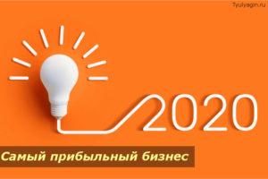 Самый прибыльный бизнес 2020