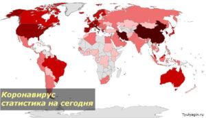 Коронавирус 2020 статистика на сегодня по странам мира