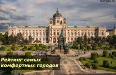Рейтинг самых комфортных городов мира и России