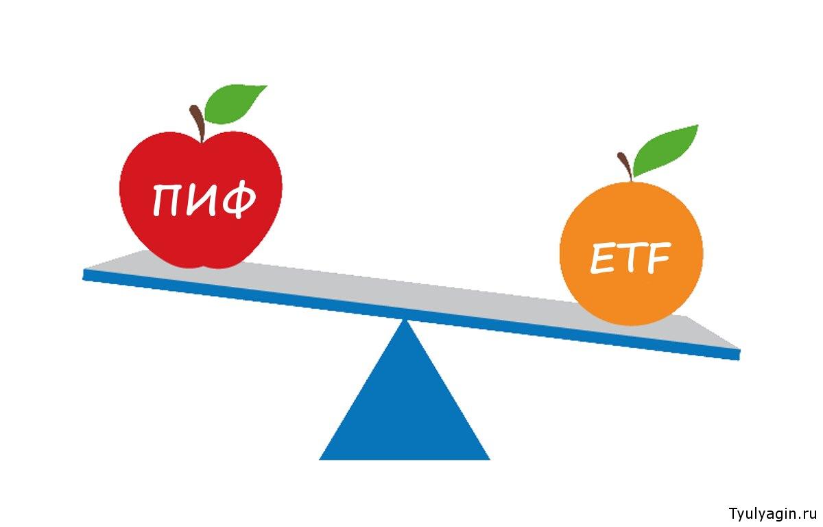 ETF или ПИФ: в чем отличие и что лучше?