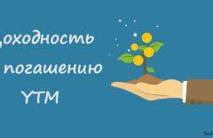 Доходность к погашению облигации (YTM) - что это такое: формула и пример расчета