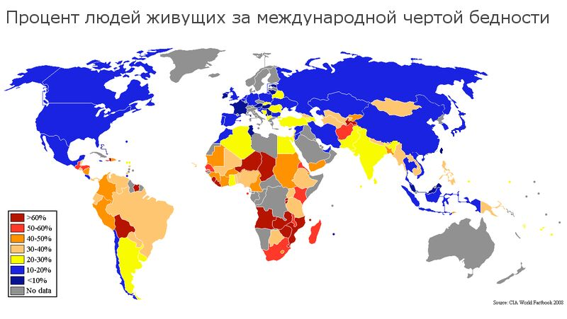 Международное определение черты бедности