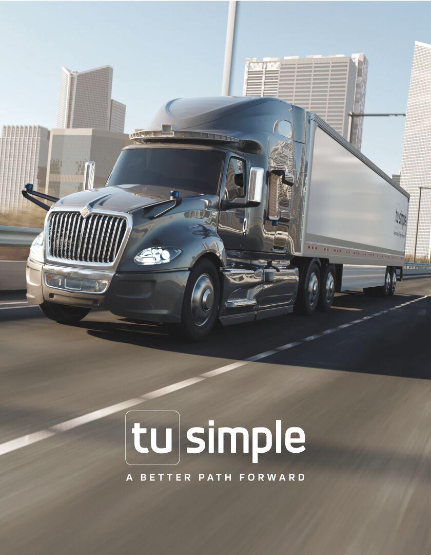 О компании TuSimple Holdings Inc.
