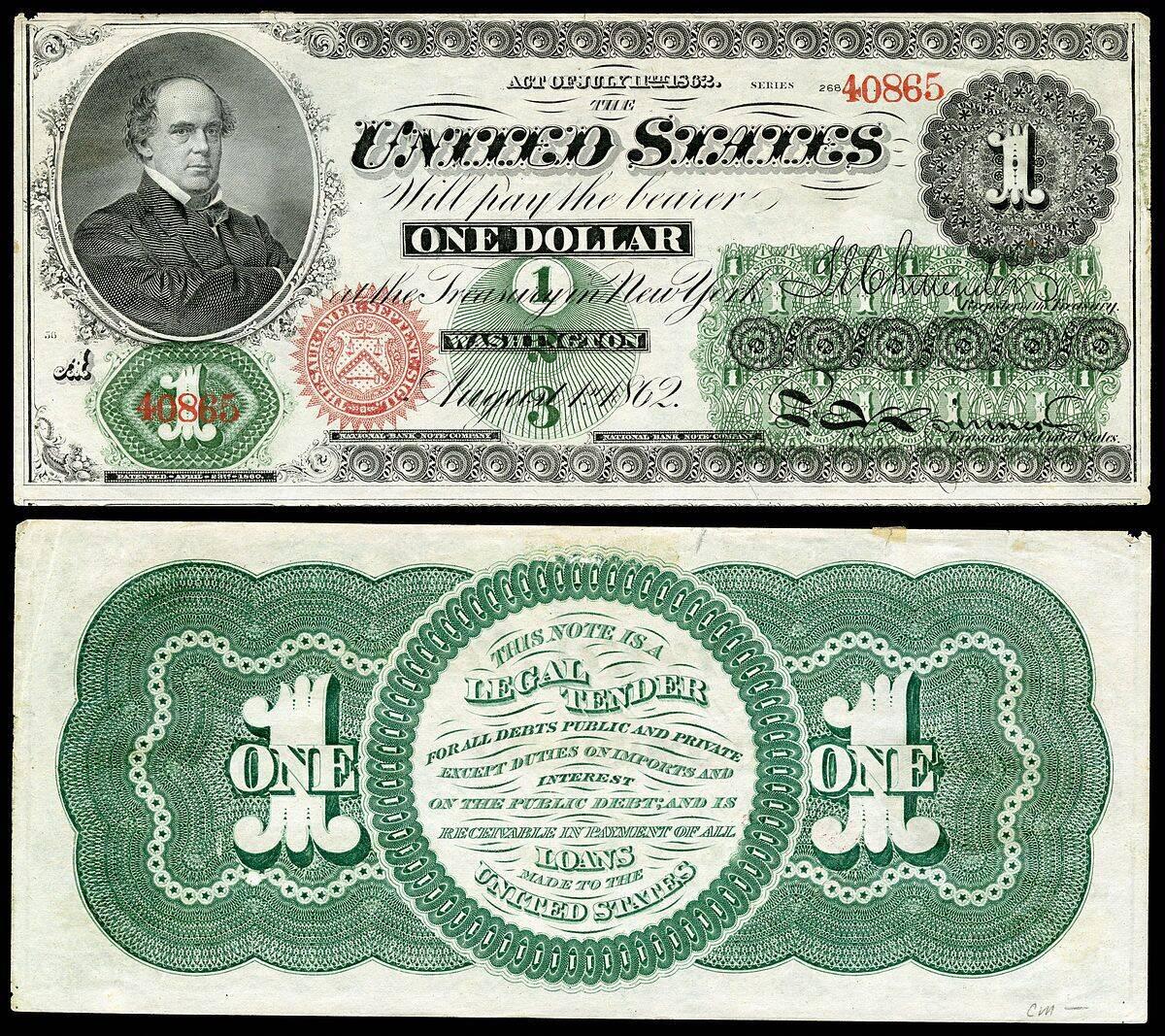 Greenback (Гринбэк - Доллар 1860 годов)