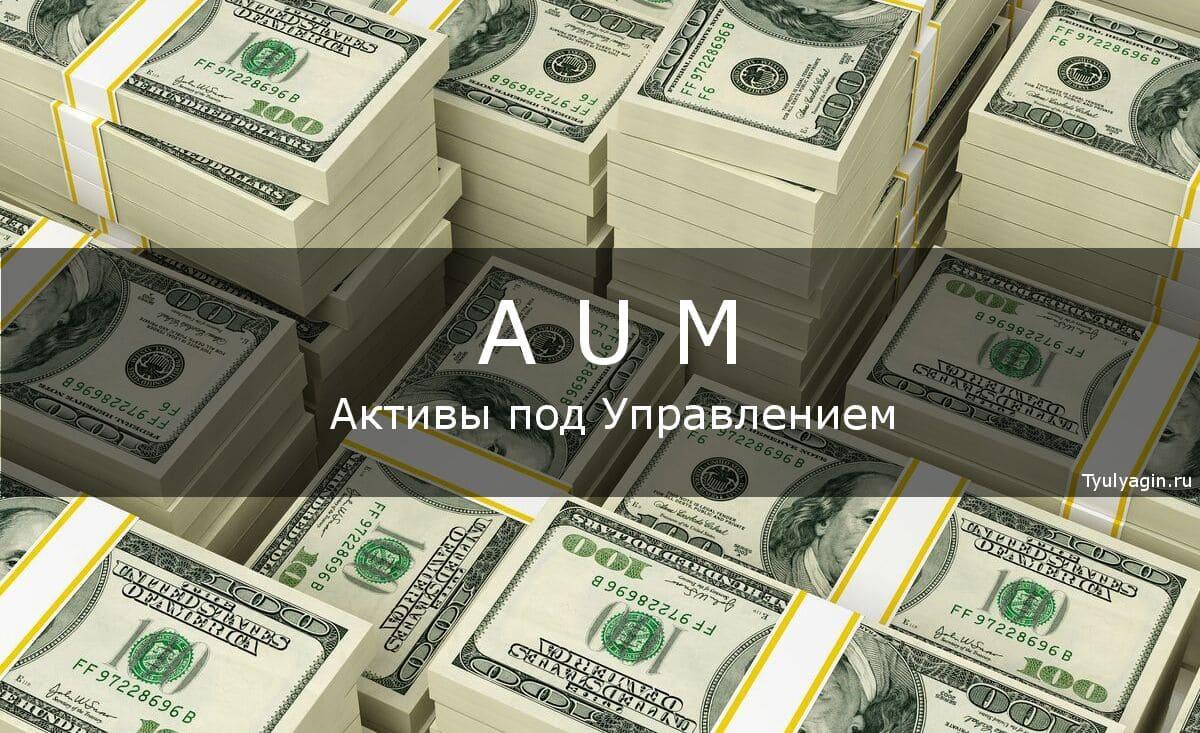Активы под управлением (AUM) что это простыми словами