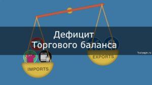 Дефицит торгового баланса