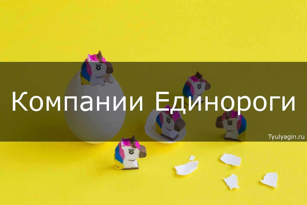 Единорог (компания-стартап) - что это такое